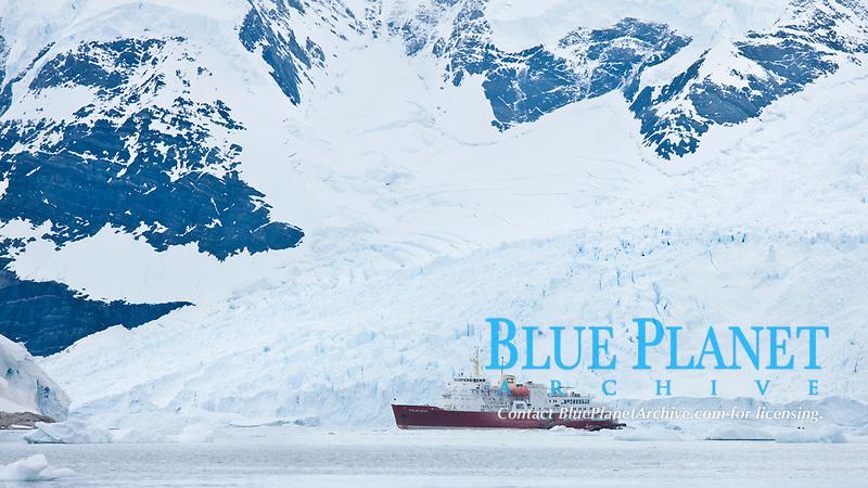 Icebreaker M/V Polar Star, at anchor in Neko Harbor.