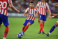 Orlando, FL - Wednesday July 31, 2019:  Ángel Correa #10 during the Major League Soccer (MLS) All-Star match between the MLS All-Stars and Atletico Madrid at Exploria Stadium.