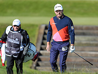 Saturday 30th May 2015; Graeme McDowell, Northern Ireland, starts his third round<br /> <br /> Dubai Duty Free Irish Open Golf Championship 2015, Round 3 County Down Golf Club, Co. Down. Picture credit: John Dickson / SPORTSFILE