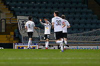 16th March 2021; Dens Park, Dundee, Scotland; Scottish Championship Football, Dundee FC versus Ayr United; Cammy Smith of Ayr United celebrates after scoring for 2-0