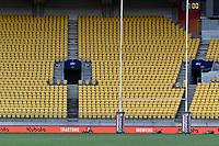 A general view of Sky Stadium before the Bunnings NPC - Wellington v Canterbury at Sky Stadium, Wellington, New Zealand on Friday 8 October 2021.<br /> Photo by Masanori Udagawa. <br /> www.photowellington.photoshelter.comto
