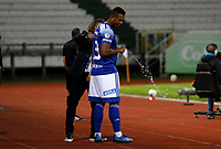 MANIZALES - COLOMBIA, 16-01-2021:Fredy Guarin jugador de Millonarios.Millonarios  y Envigado F.C. en partido por la fecha 1 de la Liga BetPlay DIMAYOR 2021 jugado en el estadio Palogrande de la ciudad de Manizales. /Fredy Guarin plaer f Millnarios.Millonarios  and Envigado F.C. in match for the date 1 as part of BetPlay DIMAYOR League 2021 played at Palogrande stadium in Manizales city.  Photo: VizzorImage / John Jairo Bonilla / Contribuidor