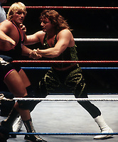 Owen Hart Marty Janette 1993                                                Photo By John Barrett/PHOTOlink