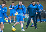 St Johnstone Training….31.03.17<br />Brian Easton pictured training on the astroturf at McDiarmid Park this morning ahead of tomorrow's game at Hamilton.<br />Picture by Graeme Hart.<br />Copyright Perthshire Picture Agency<br />Tel: 01738 623350  Mobile: 07990 594431