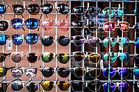 sun lenses, dark lenses, colored lenses lenstes de sol, lentes oscuros, lentes de colores Sales of souvenirs in the tourist destination Puerto Peñasco, Sonora, Mexico. crafts, art, handicrafts, beachwear and accessories, ceramics, sunglasses, Mexican handicrafts, leather guarache, Mexican guarache, sun hat and decorative items. (Photo: Luis Gutierrez /NortePhoto.com)..<br /> Venta de Recuerdos en el destino turistico Puerto Peñasco, Sonora, Mexico. artesanias, arte, manualidades, ropa y accesorios de playa, ceramica, lentes de sol, artesanias mexicanas, guarache de piel, guarache mexicanos, sombrero para el sol y articulos de decoracion. (Photo: Luis Gutierrez /NortePhoto.com)