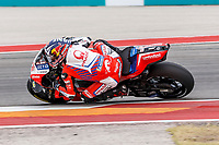 2nd October 2021; Austin, Texas, USA;  Johann Zarco (5) - (FRA) riding a Ducati for the Pramac Racing Team during Free Practise 3 at the MotoGP Red Bull Grand Prix of the Americas held October 2, 2021 at the Circuit of the Americas in Austin, TX.
