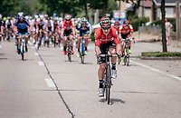 Jasper de Buyst (BEL/Lotto-Soudal) trying to break free from the pack<br /> <br /> 10th Heistse Pijl 2017