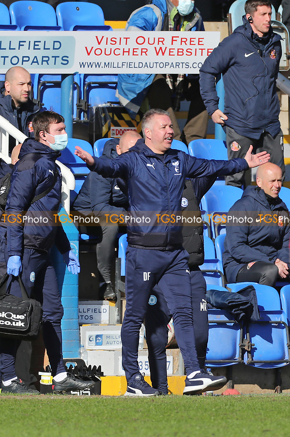 Peterborough United's Manager Darren Ferguson during Peterborough United vs Sunderland AFC, Sky Bet EFL League 1 Football at London Road on 5th April 2021