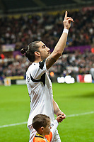 Thursday 28 November  2013  Pictured:Chico Flores <br /> Re:UEFA Europa League, Swansea City FC vs Valencia CF  at the Liberty Staduim Swansea