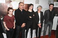 Marine Vacth SolËne Rigot Nicolas Boukhrief Anne Le Ny - PREMIERE DU FILM 'CONFESSION' A PARIS