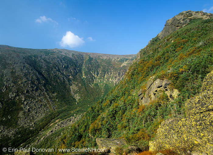 Tuckerman Ravine from Lion Head Trail in Sargent's Purchase in the New Hampshire White Mountains.