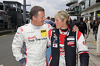 17th March 2021; Germany:   Sabine Schmitz with Fahrerkollege Frank Schmickler. Schmitz, who has won the 24 hours race on the Nurburgring as the only woman so far 2 times. The queen of the Nurburgring has died at the age of 51 years as a result of her long battle with cancer