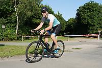 Bernie Paffhausen auf dem Rad - Mörfelden-Walldorf 18.07.2021: MoeWathlon