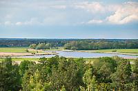 Blick vom Milower Berg auf die Havel, Milower Land, Havelland, Brandenburg, Deutschland