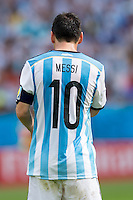The shirt of Lionel Messi of Argentina