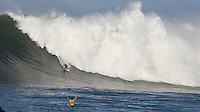 Peter Mel competes in the 2010 Mavericks Surf Contest, Saturday, Feb. 13, 2010, Half Moon Bay, California.