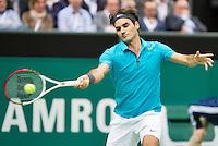 14-02-13, Tennis, Rotterdam, ABNAMROWTT,Roger Federer