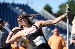 Pamela LeJean, Toronto 2015 - Para Athletics // Para-athlétisme.<br /> Pamela LeJean competes in the Women's Shot Put F53/54/55 // Pamela LeJean participe au lancer du poids féminin F53/54/55. 12/08/2015.