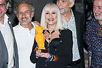 Italian singer Raffaella Carra receives the World Pride Award 2017 at Italian Embassy in Madrid, June 27, 2017. Spain.<br /> (ALTERPHOTOS/BorjaB.Hojas)