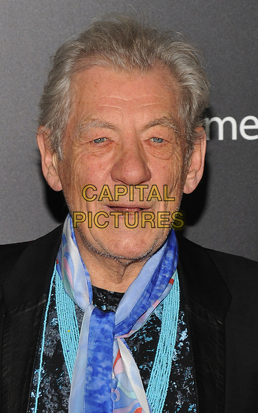 NEW YORK, NY - March 13 : Ian McKellen attends the 'Beauty And The Beast' New York screening at Alice Tully Hall, Lincoln Center on March 13, 2017 in New York City.<br /> CAP/MPI/JP<br /> ©JP/MPI/Capital Pictures