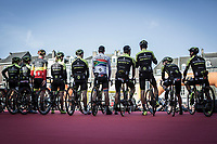 combined men + women Mitchelton-Scott team presentation<br /> <br /> 53th Amstel Gold Race (1.UWT)<br /> 1 Day Race: Maastricht > Berg en Terblijt (263km)