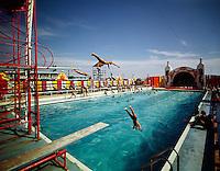Aqua Circus, Wildwood, NJ.<br /> Three divers.