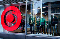 NEW YORK, NEW YORK - MARCH 02: View  of a showcase at Target store on March 02, 2021 in New York. Target hopes to build a growth by investing about $ 4 billion annually for the next years to accelerate the consolidation of new stores, upgrade existing ones and enhance its capacity to fulfill online orders. (Photo by Emaz/VIEWpress)
