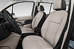 Front seat view of 2018 Ford Transit Connect Titanium 5 Door Mini Mpv Front Seat  car photos