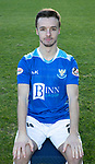 St Johnstone FC Photocall….2018/19 Season<br />Steaf Scougall<br />Picture by Graeme Hart.<br />Copyright Perthshire Picture Agency<br />Tel: 01738 623350  Mobile: 07990 594431