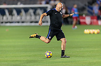 Carson, CA - Sunday January 28, 2018: Matt Reis during an international friendly between the men's national teams of the United States (USA) and Bosnia and Herzegovina (BIH) at the StubHub Center.