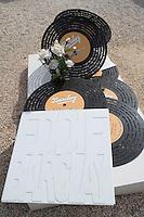 Europe/Provence-Alpes-Côte d'Azur/83/Var/Saint-Tropez: Le cimetière Marin - La tombe d'Eddie Barclay