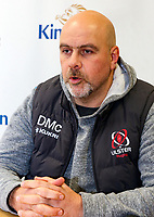 Monday 23rd December 2019 | Ulster Rugby Match Briefing<br /> <br /> Ulster Rugby Head Coach Dan McFarland at the Match Briefing held at Kingspan Stadium, Belfast ahead of the PRO14 Round 9 inter-pro clash against Connacht at Kingspan Stadium., on Friday 27th December 2019. Photo by John Dickson / DICKSONDIGITAL
