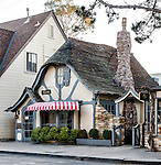 Street view of Carmel during an early Sunday morning stroll