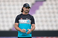 Colin de Granhomme, New Zealand during a training session ahead of the ICC World Test Championship Final at the Hampshire Bowl on 17th June 2021