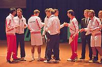 13-sept.-2013,Netherlands, Groningen,  Martini Plaza, Tennis, DavisCup Netherlands-Austria, ,  Presentation of the teams: <br /> Photo: Henk Koster