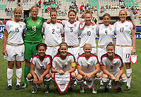 Chile, Temuco: Usa´s teams, during the final match on the group, Fifa U-20 Womens World Cup the at German Becker stadium in Temuco , on November 26 2008. Photo by Grosnia/ISIphotos.com