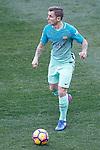 FC Barcelona's Lucas Digne during La Liga match. February 26,2017. (ALTERPHOTOS/Acero)