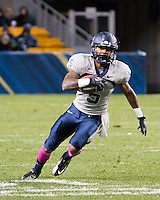 Old Dominion wide receiver Antonio Vaughan. The Pitt Panthers defeated the Old Dominion Monarchs 35-24 at Heinz Field, Pittsburgh, Pennsylvania on October 19, 2013.