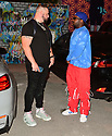 """MIAMI, FL - APRIL 23: Rapper Highlight and Jaquae attend the official Premiere and debut of Jaquae and Highlight music video release """"Movie"""" at Gallery House Miami on April 23, 2021 in Miami, Florida.  ( Photo by Johnny Louis / jlnphotography.com )"""