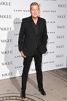 Mario Testino<br /> at the Vogue 100: A Century of Style exhibition opening held in the National Portrait Gallery, London.<br /> <br /> <br /> ©Ash Knotek  D3080 09/02/2016