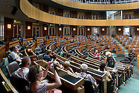 Sitzungssaal im Parlament, Dr.-Karl-Renner-Ring 3, Wien, Österreich<br /> Assembly Hall of the Parliament, Vienna, Austria