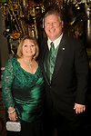 """Brenda and Henry Trocheeset at the San Luis Salute """"Hollywood Dinner Club"""" in Galveston Friday Feb. 09,2018. (Dave Rossman Photo)"""