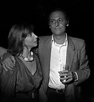 RENZO ARBORE CON MARIANGELA MELATO<br /> PIPER ROMA 1979