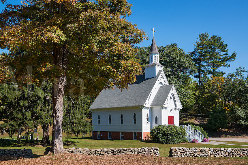 Country church, West Cornwall, Connecticut, Cornwall