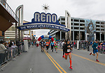 The start of the 10 K race during the 6th Annual Reno 5000 Downtown River Run on Saturday, April 6, 2019.