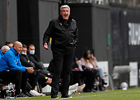 23rd May 2021; Craven Cottage, London, England; English Premier League Football, Fulham versus Newcastle United; Newcastle United Manager Steve Bruce