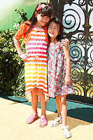"""WESTWOOD, LOS ANGELES, CA, USA - MAY 03: Chloe Noelle, Aubrey Anderson-Emmons at the Los Angeles Premiere Of """"Legends Of Oz: Dorthy's Return"""" held at the Regency Village Theatre on May 3, 2014 in Westwood, Los Angeles, California, United States. (Photo by Celebrity Monitor)"""