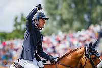 IRL-Darragh Kenny rides Babalou 41 during the Rolex Grand Prix of Aachen - Round 1. 2019 GER-CHIO Aachen Weltfest des Pferdesports. Sunday 21 July. Copyright Photo: Libby Law Photography