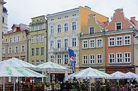 Marktplatz (Rynek) in Opole (Oppeln), Woiwodschaft Oppeln (Województwo opolskie), Polen, Europa<br /> Marketplace (Rynek)  in Opole, Poland, Europe