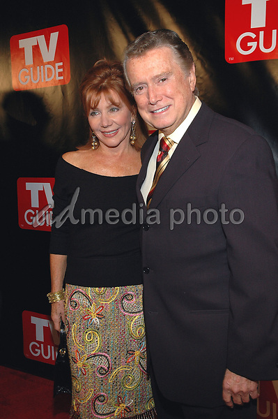 Regis Philbin dies at 88 - Regis Philbin dies at 88 - 11 October 2005 - New York, New York -Regis and Joy Philbin arrive at the New Big TV Guide launch party at the Home and Guest House Club in Chelsea. <br /> Photo Credit: Patti Ouderkirk/AdMediaRegis Philbin dies at 88